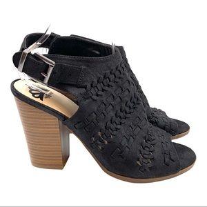 Fergalicious Vagabond Peep Toe Slingback Sandals